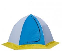 Двухместкая шестилучевая палатка для зимней рыбалки